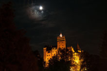 Dracula's Castle by night Tour